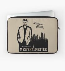 Richard Castle, Mystery Writer Laptop Sleeve
