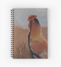 The Rooster Spiral Notebook