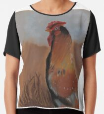 The Rooster Chiffon Top