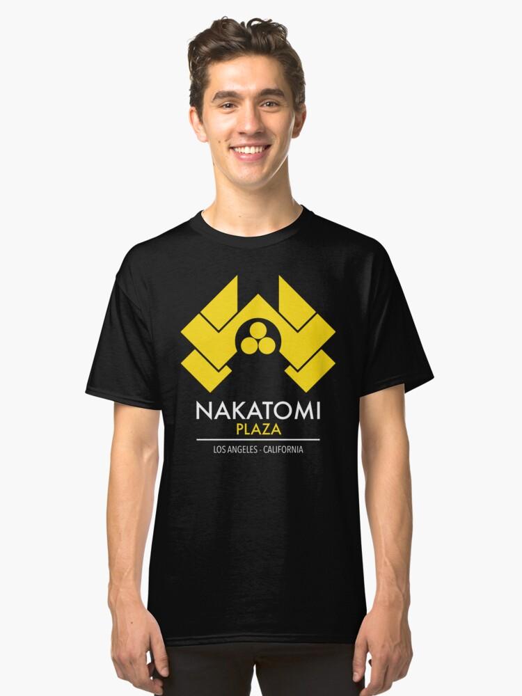 Nakatomi Plaza Classic T-Shirt Front