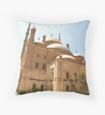 Mosque of Mohamed Ali Throw Pillow