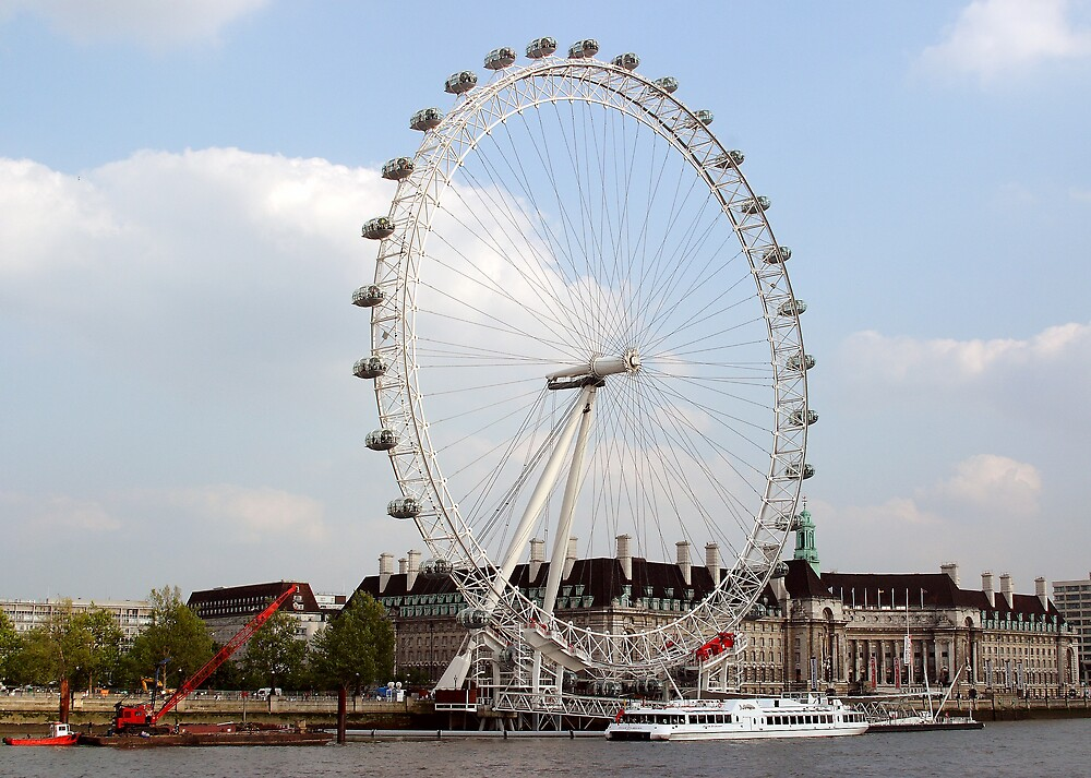 London Eye by kitlew