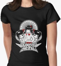 BABY METAL CUTE Womens Fitted T-Shirt