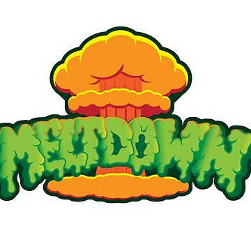 Meltdown explosion logo design by chris3290