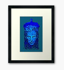 the timelord Framed Print