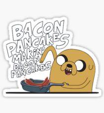 Adventure time Bacon pancakes jake  Sticker