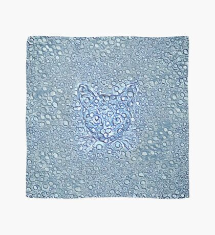 Maritime droplets cat Scarf