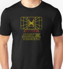 "Star Wars inspired ""Stay On Target"" T-Shirt T-Shirt"