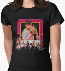 grease2 Womens Fitted T-Shirt