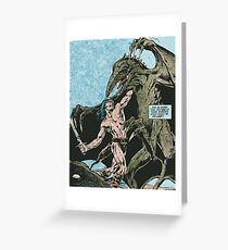 galaxy warrior Greeting Card