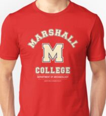 Indiana Jones - Marshall College Archaeology Department Unisex T-Shirt