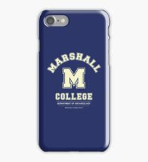 Indiana Jones - Marshall College Archaeology Department iPhone Case/Skin