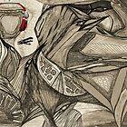 KELKIRK ST. redphones by Lesley A Marsh