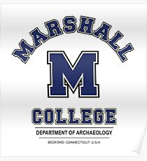 Indiana Jones - Marshall College Archaeology Department Variant Poster