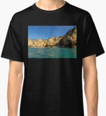 Jewel Toned Ocean Art - a Little Rough but oh so Beautiful Classic T-Shirt