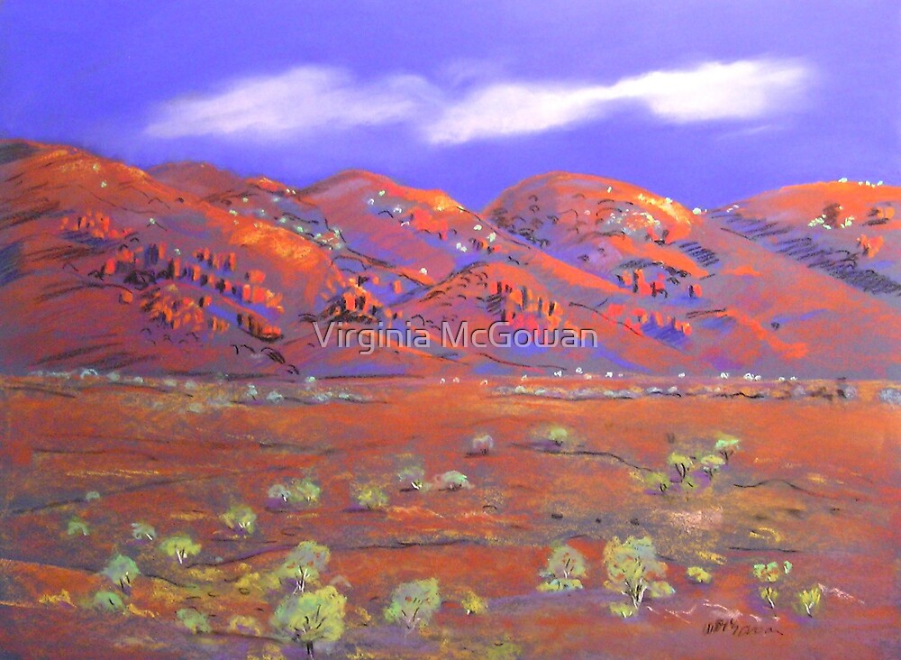 West of Mt.Isa #3 by Virginia McGowan