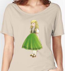 The (Swiss) Little Doll Girl III Women's Relaxed Fit T-Shirt