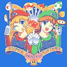 Super Princess Sisters by coinbox tees