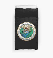 Naval Special Warfare Command - NSWC - Emblem  Duvet Cover