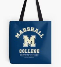 Indiana Jones - Marshall College Archaeology Department Distressed Tote Bag