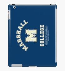 Indiana Jones - Marshall College Archaeology Department Distressed iPad Case/Skin
