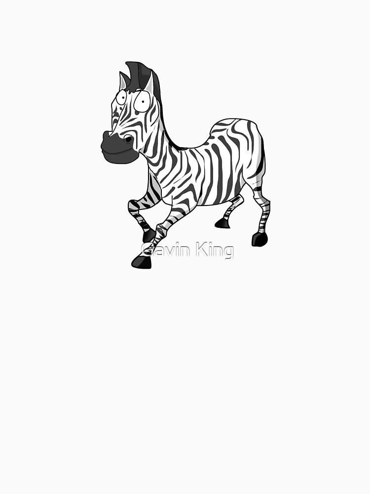 Stunned Zebra by gavinkingphotography