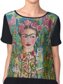 Frida- Etoile Chiffon Top