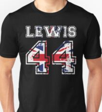 Lewis Hamilton 44 union jack T-Shirt
