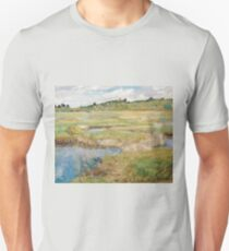 Childe Hassam - The Concord Meadow, Concord, Massachusetts T-Shirt