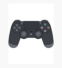 Playstation 4 Controller Photographic Print