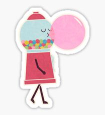 Bubble Gum Sticker