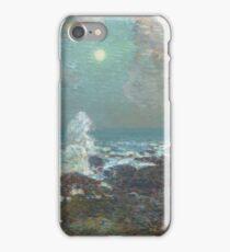 Childe Hassam - Seascape-Isle Of Shoals iPhone Case/Skin