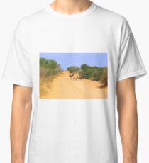 Emus on the track Classic T-Shirt