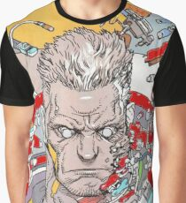 Ghost In The Shell Batou Graphic T-Shirt