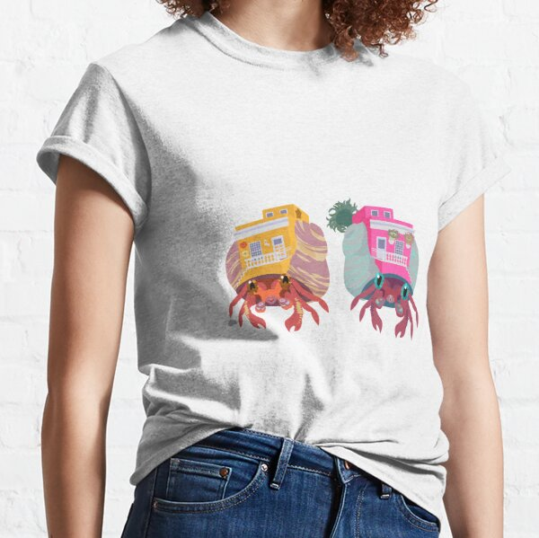 Sociable Introverts: Bright Hermit Crabs 2 Classic T-Shirt