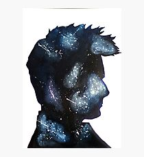 Doctor Who David Tennant Space Photographic Print