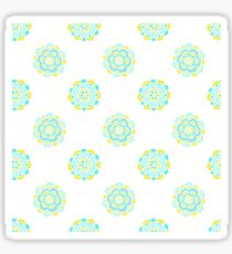 Doodle floral cute pattern. Seamless baby background. Beautiful pastel wallpaper.  Sticker