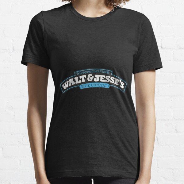 Walt   Jesse S Blue Crystal Essential T-Shirt