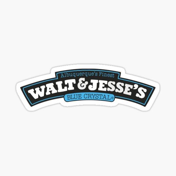 Walt Jesse S Blue Crystal Pegatina