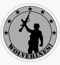 Wolverines! Sticker