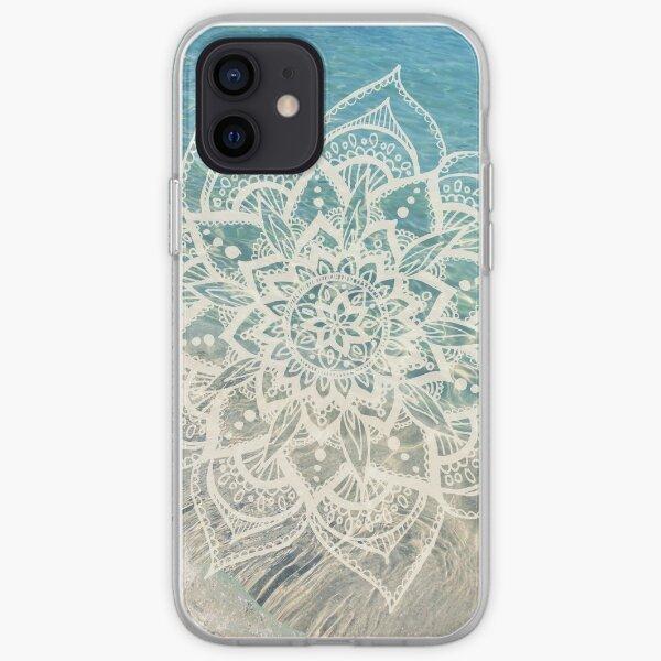 Mandala De Agua Funda blanda para iPhone