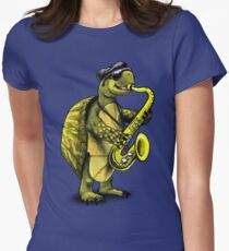 Turtle Playing The Saxophone T-Shirt