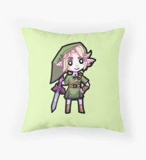 Legend of Zelda: Twilight Princess - Chibi Link Throw Pillow