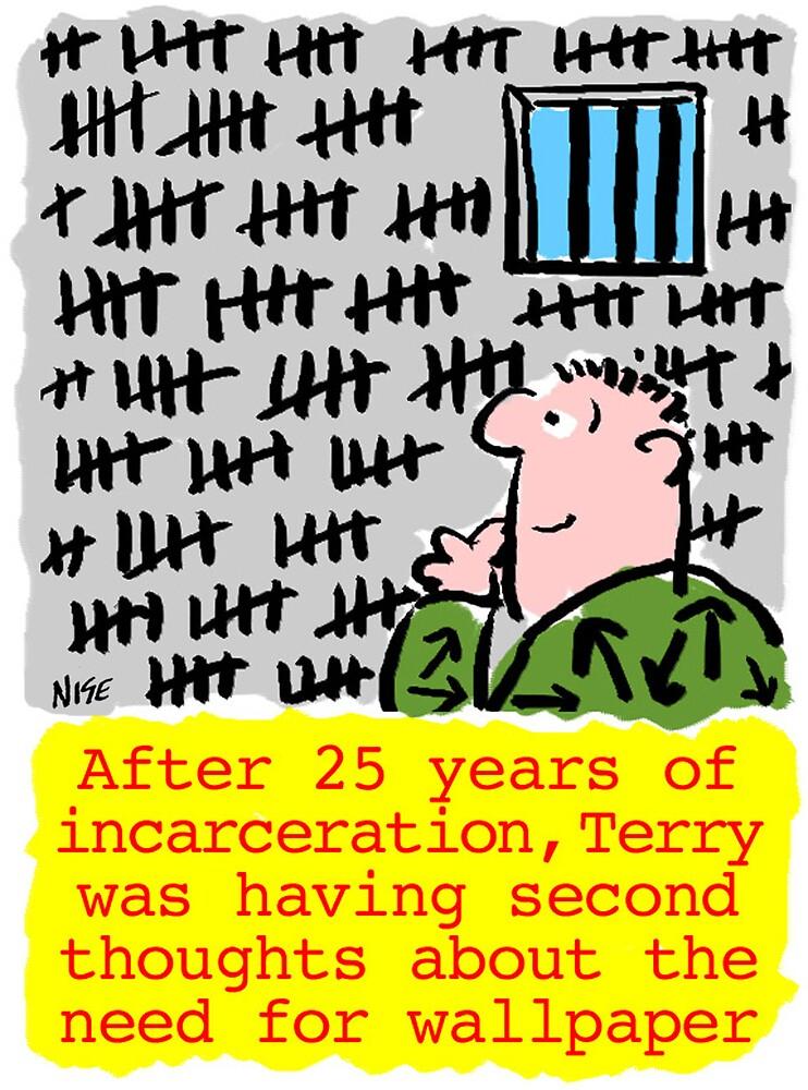 25 years jail. by Nigel Sutherland