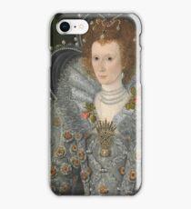 British Painter - Portrait Of A Woman iPhone Case/Skin