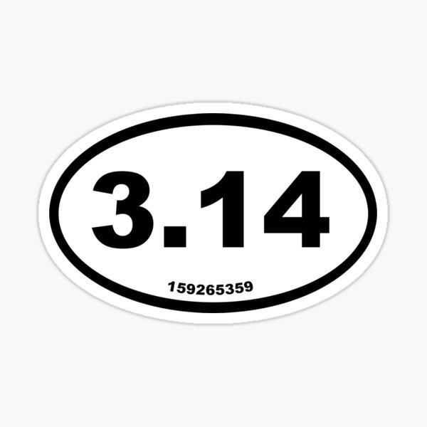 Pi Marathon Decal Sticker