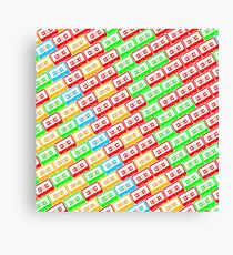 Mix-taped Canvas Print