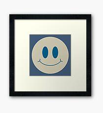 Vintage Smile Framed Print
