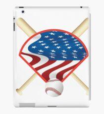 USA Baseball t-shirt iPad Case/Skin