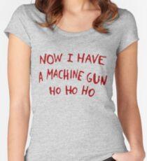 Die Hard Xmas Jumper Women's Fitted Scoop T-Shirt